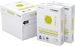 comprar comparacion Papel Reciclado Ecológico Din A4 para Impresoras y Fotocopiadoras Papel 100% Reciclado y Ecológico de 80grs Sin Atascos Ce...
