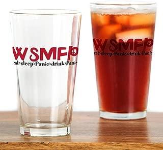 CafePress Eatsleeppanic Pint Glass, 16 oz. Drinking Glass