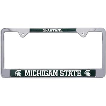 Wichita State University Alumni Premium License Plate Frame Chrome Metal