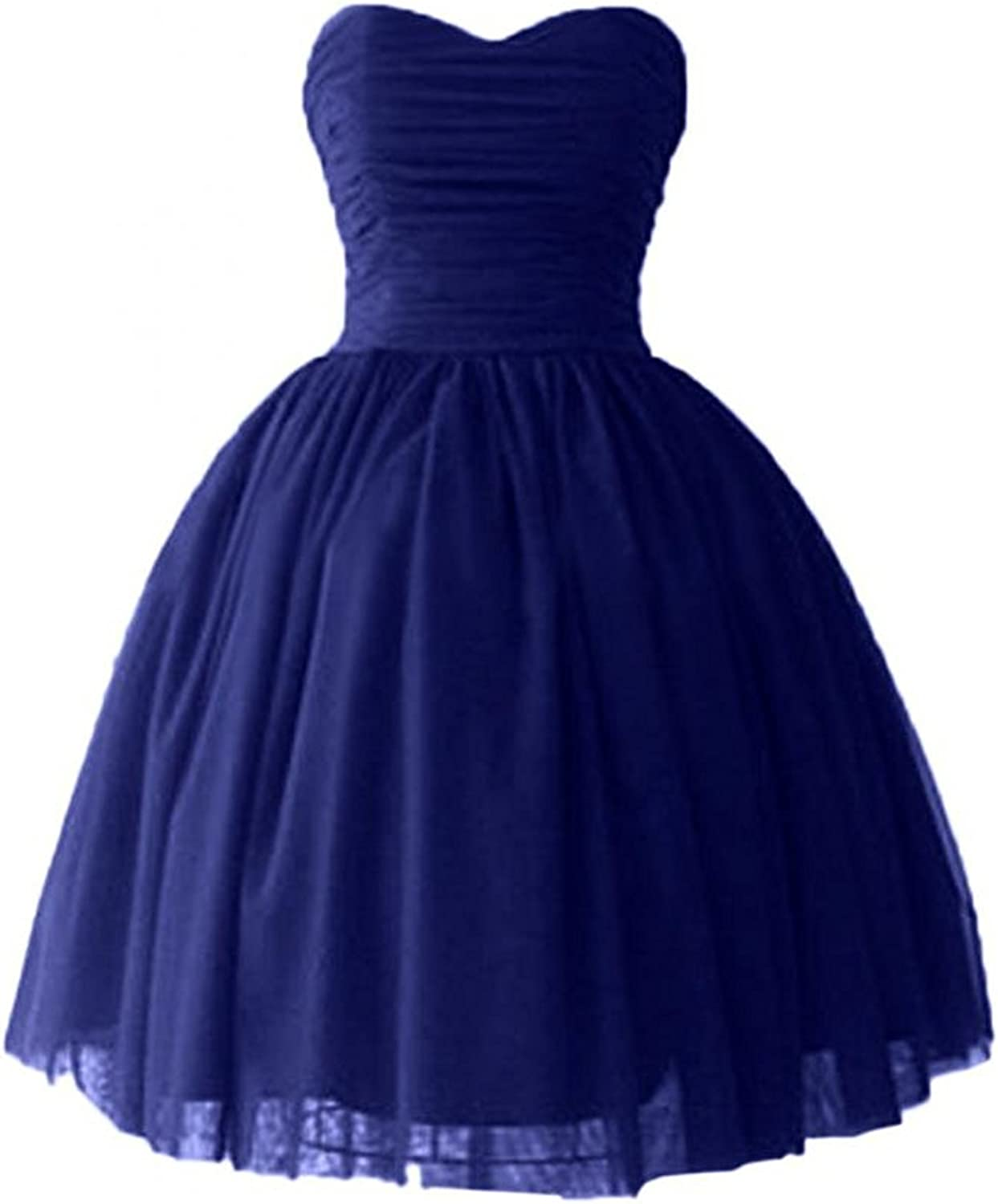 Victoria Prom Women's Cocktail Dress Satin Tulle Homecoming Party Dress Wsk07