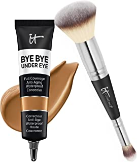 Sponsored Ad - IT Cosmetics Makeup Set - Includes Supersize Bye Bye Under Eye Concealer (35.5 Rich) + Heavenly Luxe Comple...