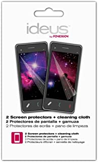 IDEUS pparcs – skärmskydd och rengöringsduk för Sony Ericsson Xperia Arc och Arc S Clear (paket med 2)