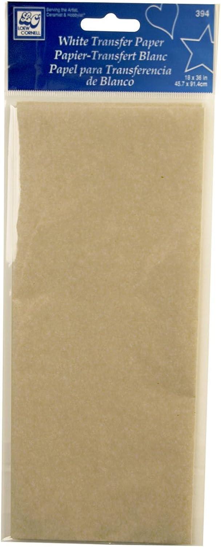 Unbekannt Loew Cornell 394 weiß Transfer Papier B004185GB0  | Haltbarkeit