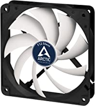 ARCTIC F12 Silent, 120 mm 3-Pin Fan with Standard Case and Higher Airflow, Quiet and Efficient Ventilation