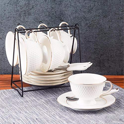 Tasse à café La Tasse De Café en Céramique Creative Tasse De Café Après - Midi Tasse Et Soucoupe Black Tea Cup. D
