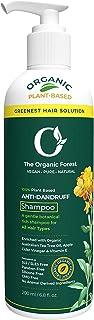 TheOrganicForest Anti-Dandruff Shampoo Crafted with Goodness of Australian Tea Tree Oil, Aloe Vera, and Organic Apple Cide...