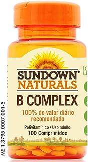 Complexo B - 100 Comprimidos, Sundown Naturals, Sundown Natu