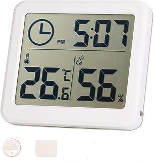 moinkerin Higrometro Digital Termometro Humedad Termometros Higrometros para el Hogar, la Oficina, el Ddormitorio, la Habi...