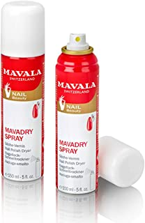 Mavala Malady Spray Nail Polish Dryer for Unisex - 5 oz