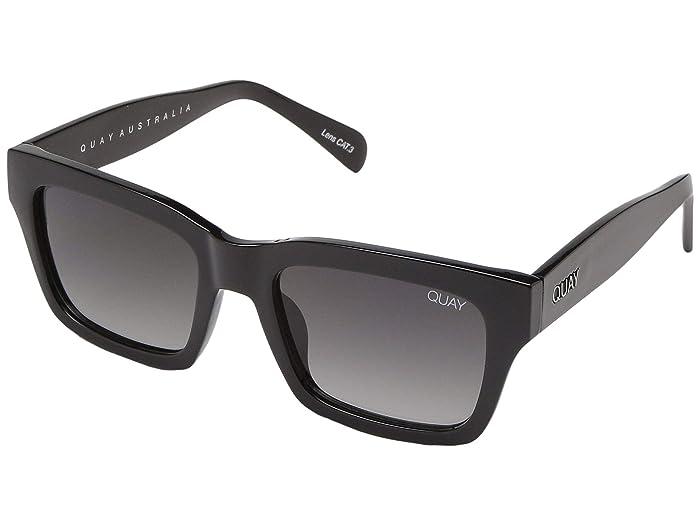 QUAY AUSTRALIA In Control (Black/Smoke) Fashion Sunglasses