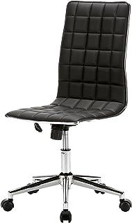 サンワダイレクト オフィスチェア おしゃれ キャスター付き 高さ調節 パソコンチェア ブラック 100-SNC027BK