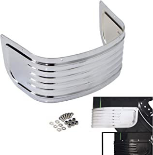 Chrome Front Fender Skirt Trim For Harley Davidson Touring Ultra Classic Electra Glide 2014-2018