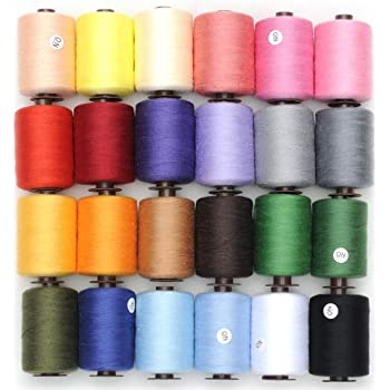 New High Quality 200M Grey Sewing Cotton Thread For Hand Or Machines .