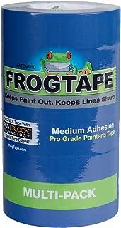 Frog Tape 242750 Blue Pro Painter's Tape, 6 Rolls,