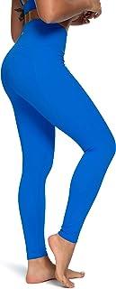 QUEENIEKE Women Yoga Leggings Ninth Pants High Waist Gym Running Tights(70824)