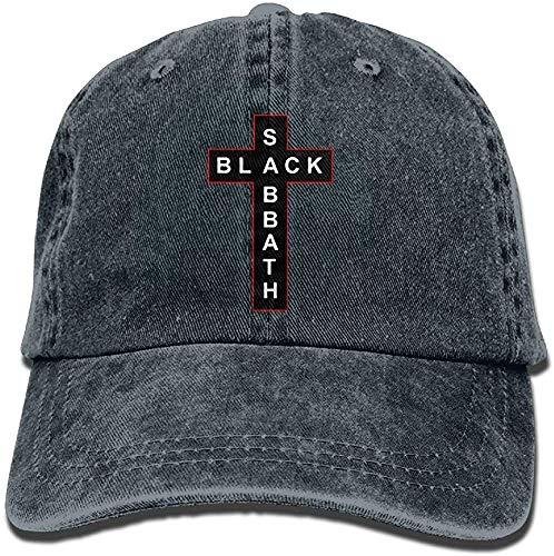 Sdltkhy SDQQ6 Black Sabbath Adult Cowboy Hat Baseball Cap Adjustable Athletic Make Custom Graphic Hat for Men and Women