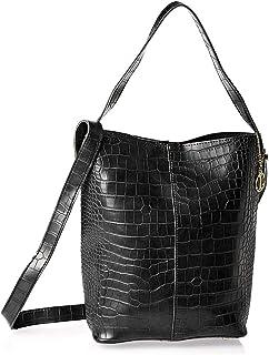 inoui bucket bag for women-DZ8637A-Black