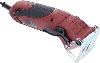 Mini Juego de Máquina de Sierra Circular Máquina de Sierra Circular de 400 W con 3 Hojas de Sierra, 2 Llaves y Tubo de Aire, Alta Velocidad 3700 Rpm, Embalada en Caja de Herramientas