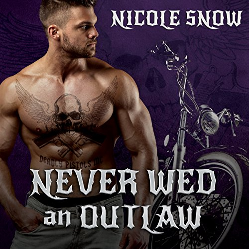 Never Wed an Outlaw audiobook cover art