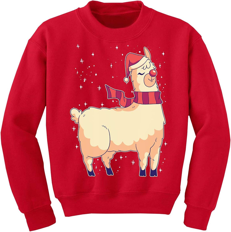 Awkward Styles Christmas Llama Kids Sweater Ugly Xmas Sweatshirt for Children Girls Boys Happy Holidays New Year Gifts