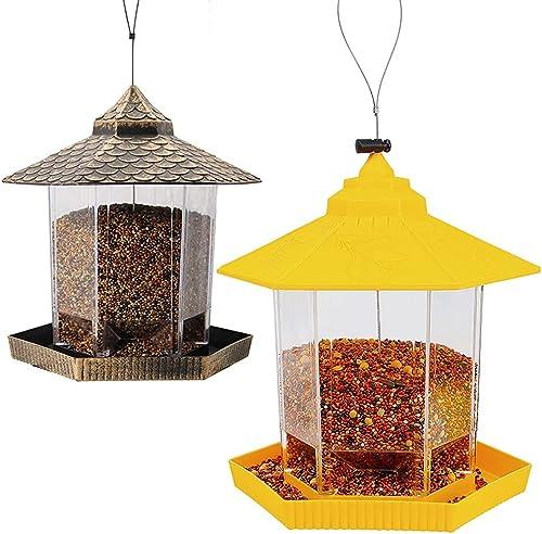 lowest Twinkle outlet online sale Star Wild Bird Feeder   Wild high quality Bird Feeder, Yellow outlet online sale
