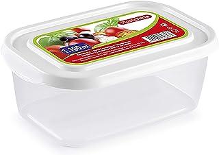علبة حفظ طعام بيضاء من بلاستك فورت 11722 - أبيض