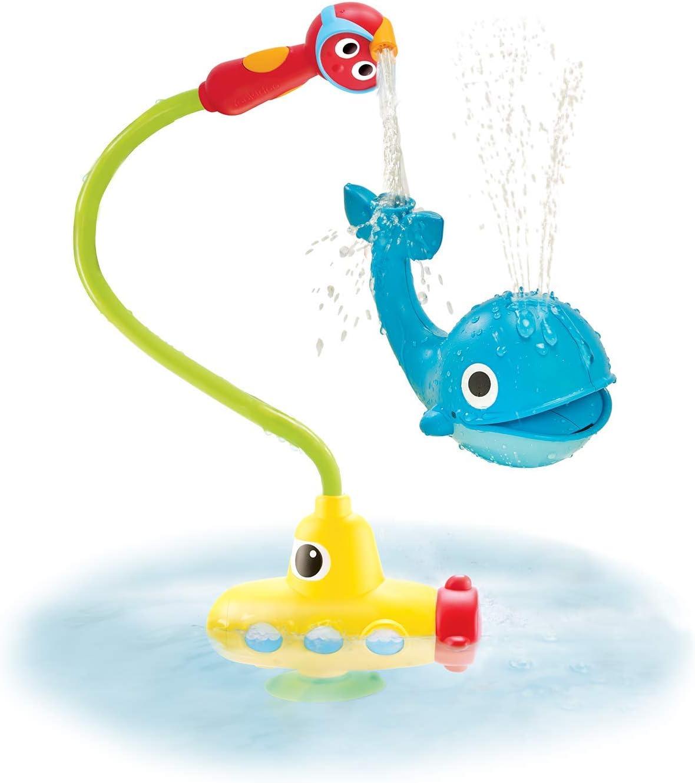 Yookidoo - Ballena Spray Submarino - Juguete de baño para bebés; Juguete de bañera; Juego Agua para niños de 2 a 6 años