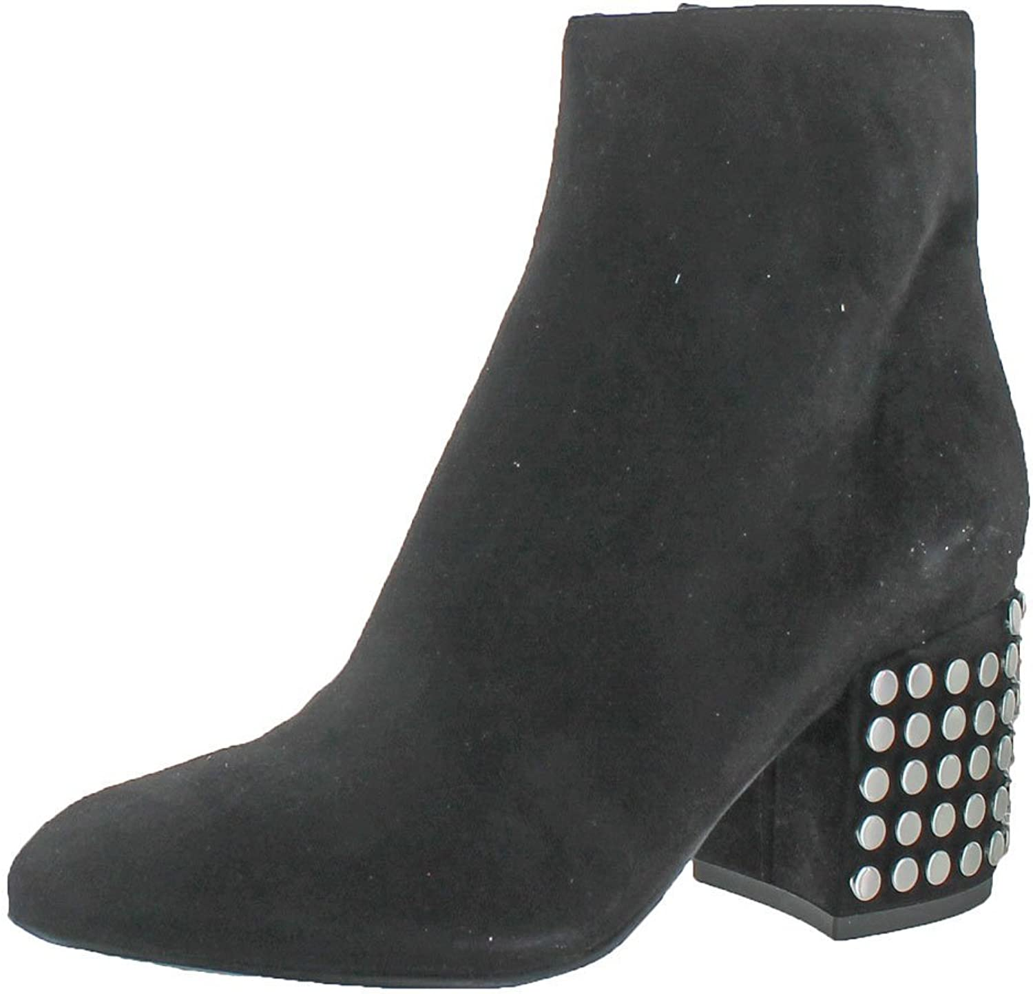 KENDALL + KYLIE Womens Blythe 3 Suede Studded Ankle Boots