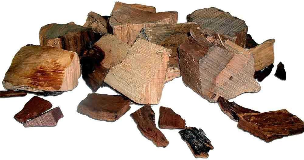 Oklahoma Joe's Wood Smoker Chunks, 8 lb, Hickory : Patio, Lawn & Garden
