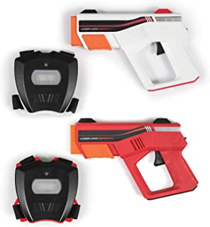 Rec-Tek Duel Shooting Laser Tag Game for Kids - Features Automatic Scoring - Complete with All Accessories