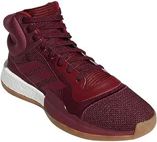 adidas Men's Marquee Boost Basketball Maroon/White/Collegiate Burgundy