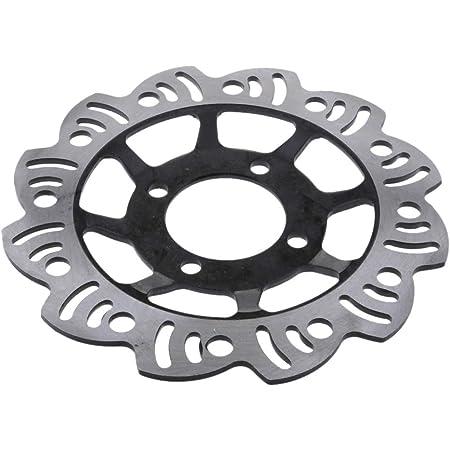 Perfk Universal Motorrad Bremsscheibe Für 90ccm 110ccm 125ccm Dirtbike Pitbike Auto
