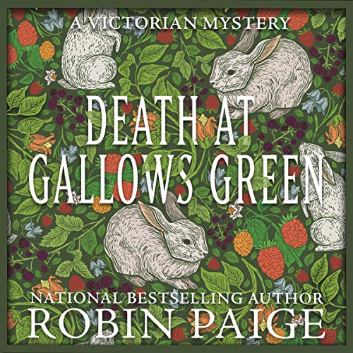 Death at Gallows Green audiobook cover art