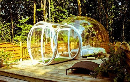 LeaningTech Der neuste Trend! Bubble Tent Klarsicht Dome Zelt Camping Festzelt 3-5 Personen