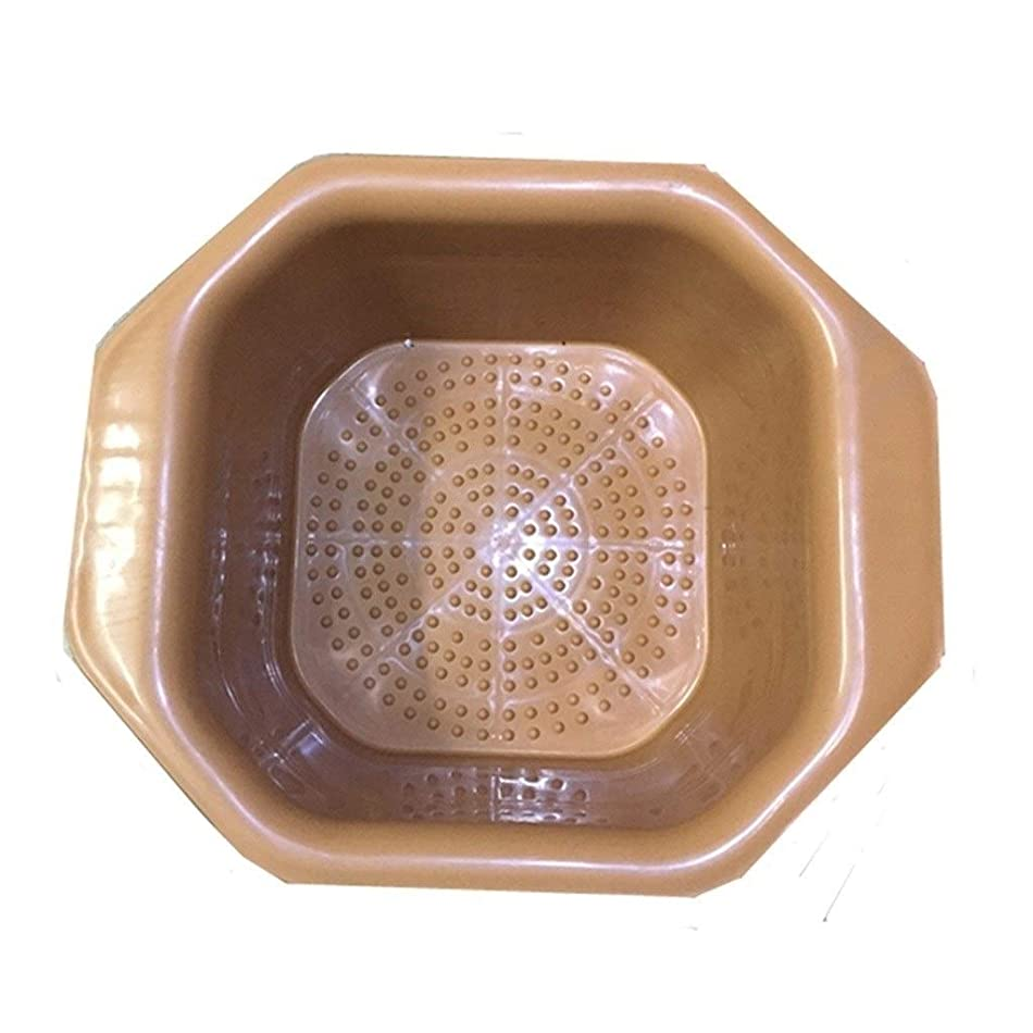 虚偽スクラブ人工大人用家庭用マッサージ浴槽プラスチック製の足バレル子供用スパマッサージフットバス XM1209-7-26-17