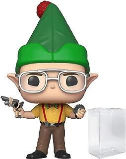 Pop! TV: The Office - Dwight Schrute as Elf Pop! Vinyl Figure (Includes Compatible Pop Box Protector Case)