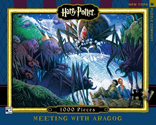 New York Puzzle Company Harry Potter Meeting With Aragog 1000 Piece Jigsaw Puzzle Buy Online In India At Desertcart In Productid 57197583