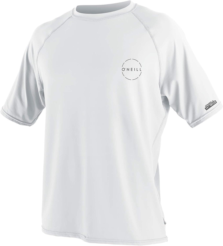 O'Neill Men's Time sale 24-7 Traveler Upf 50+ Sleeve Shirt Short NEW before selling ☆ Sun