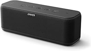 Anker SoundCore Boost 20W Bluetooth Speaker with BassUp Technology - 12h Playtime, IPX5 Water-Resistant, Portable Battery ...