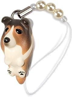 ペットラバーズ 犬種 Dog 92 Sheltie シェルティー セーブル ビーズ ストラップ DN-2502