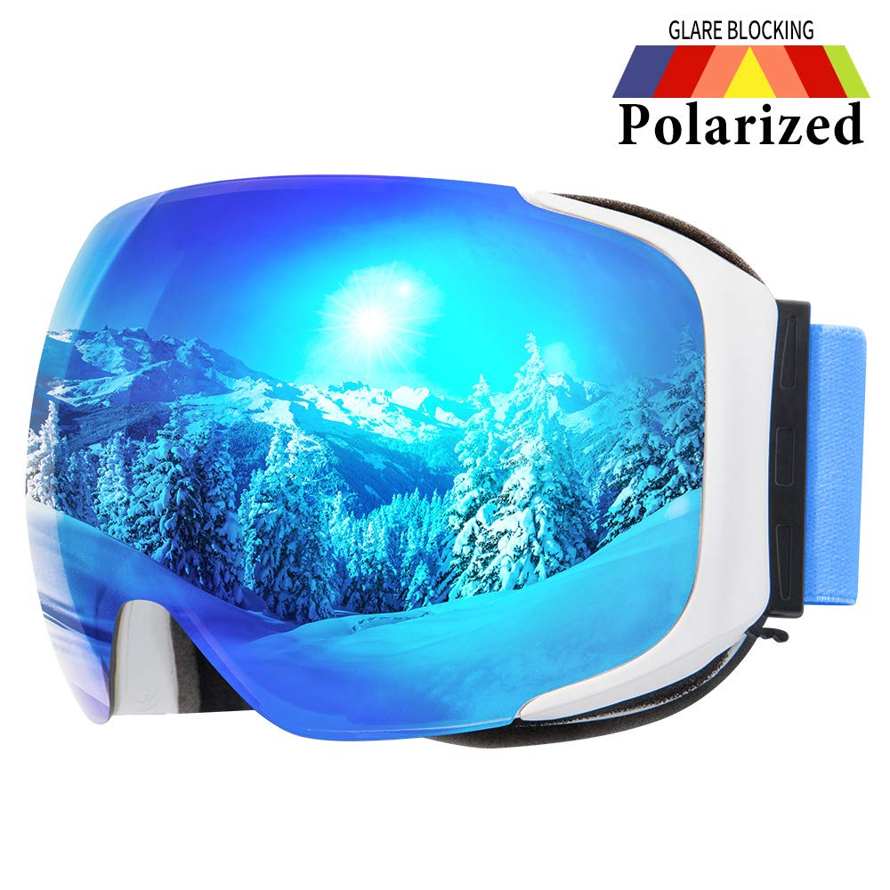 COPOZZ Goggles Magnetic Snowboard Double Layer
