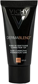 Vichy Vichy Dermablend Foundation Concealer, 45 Gold - 30 Ml