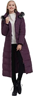 Women's Thickened Maxi Down Jackets- Hooded Long Down Jacket Winter Parka Puffer Coat