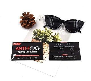 MICV anti fog cloth/spray reusable 1000 times, Microfiber Cloth for Eyeglasses, Glass, goggles, Camera Lens, Cell Phones, ...