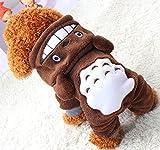 Xiaoyu Welpe Hundehund Haustier Kleidung Kapuzenjacke Pullover Warmer Pullover Welpe Welpe Herbst...