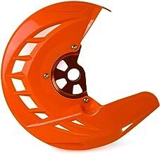 MUJUN Reserva Guardia Disco de Freno Delantero For KTM 125 150 200 250 300 350 400 450 530 SX SXF XC XCF EXC EXCF XCW XCFW 2003-2015 for Husqvarna TE FE (Color : Orange)
