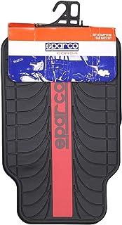 Sparco Car Mats PVC - 4 piece, Black