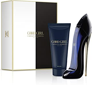 Carolina Herrera Good Girl Gift Set - 2 Pcs ( Eau de Parfum 2.7 Ounce & Body Lotion 3.4 Ounce )