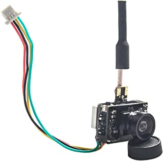 Wolfwhoop P-1 Micro 5.8GHz 25mW/50mW/200mW FPV Transmitter and 600TVL AIO Camera with OSD Interface for FPV Quadcopter Drone