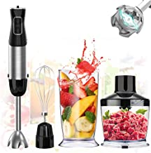 4-In-1 Immersion Hand Blender with Chopper for Kitchen – Boiobaia